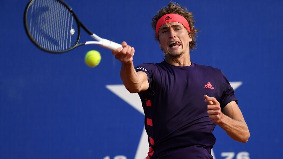 Alexander Zverev scheiterte in Barcelona am Chilenen Nicolas Jarry