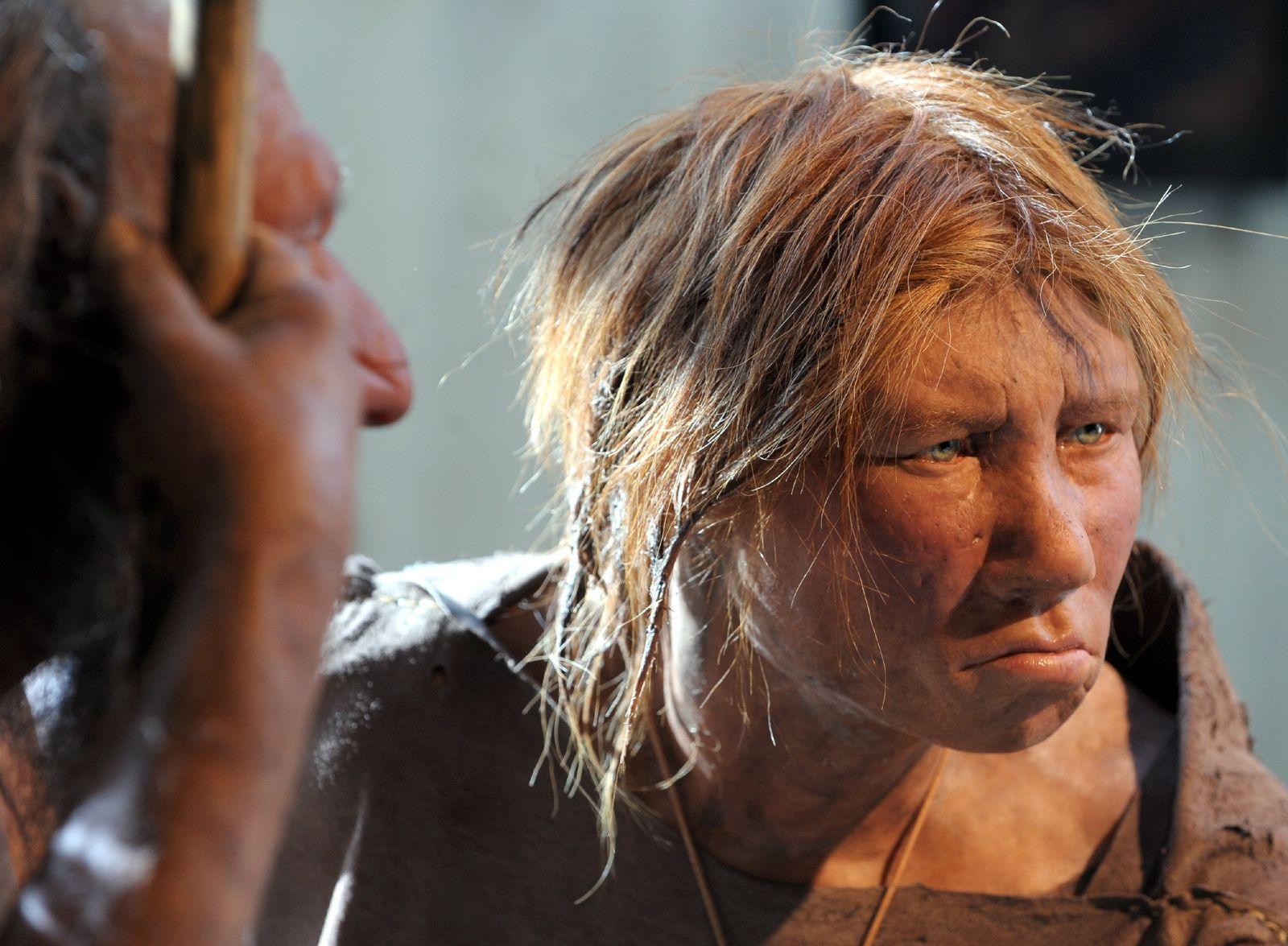 Neandertaler Frau