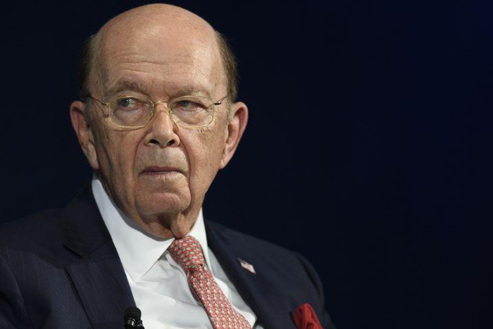 Wilbur Ross, US-Handelsminister
