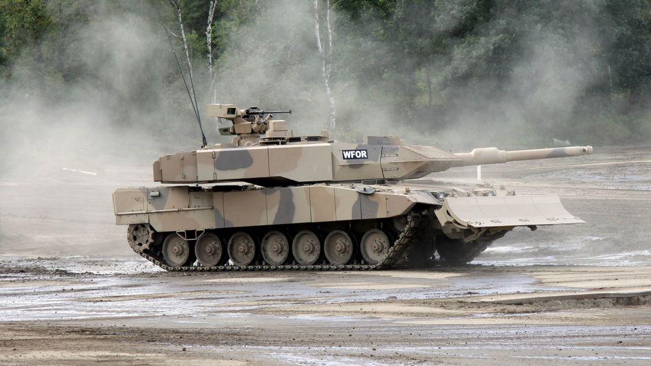 """Kampfpanzer """"Leopard"""" (vom Typ A7+)"""