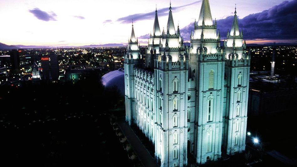 Mormonen-Tempel in Salt Lake City
