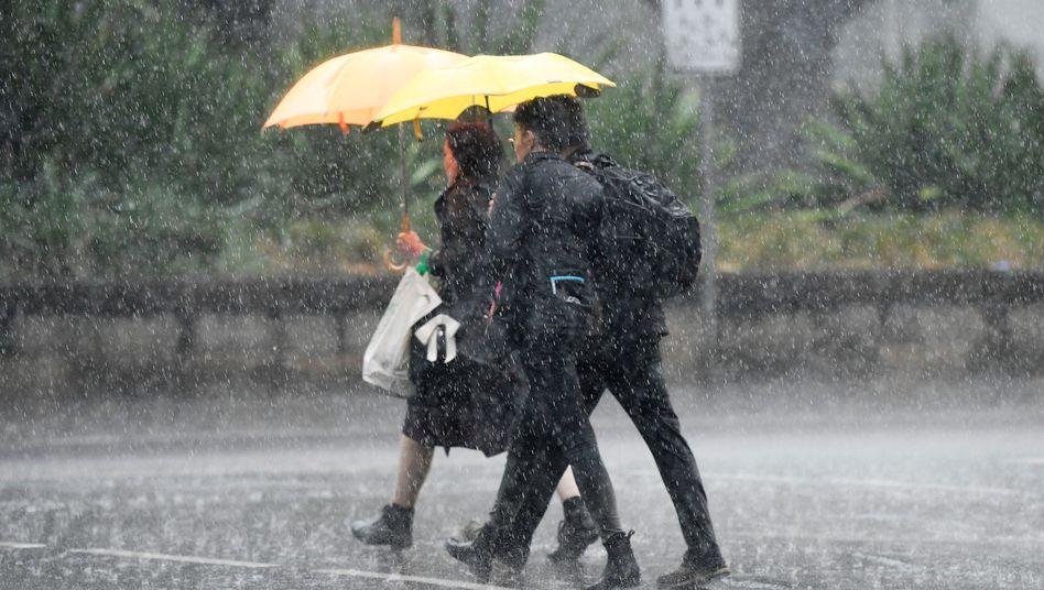 In Sydney hat es die vergangenen Tage heftig geregnet