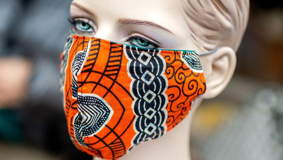 Handgenähte Schutzmaske: Die Lösung ist simpel