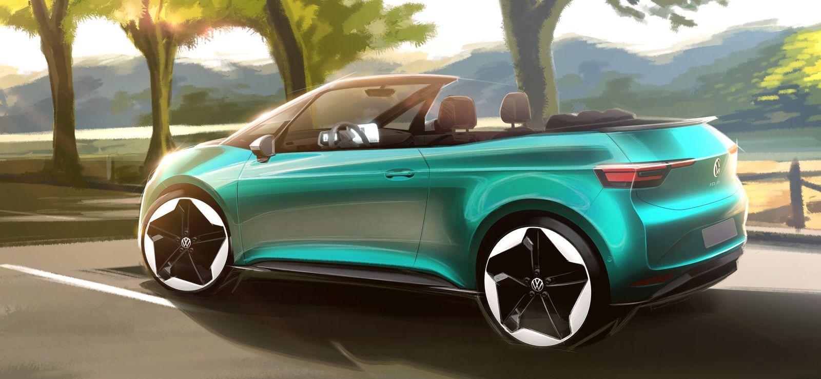 VW ID3 Cabrio