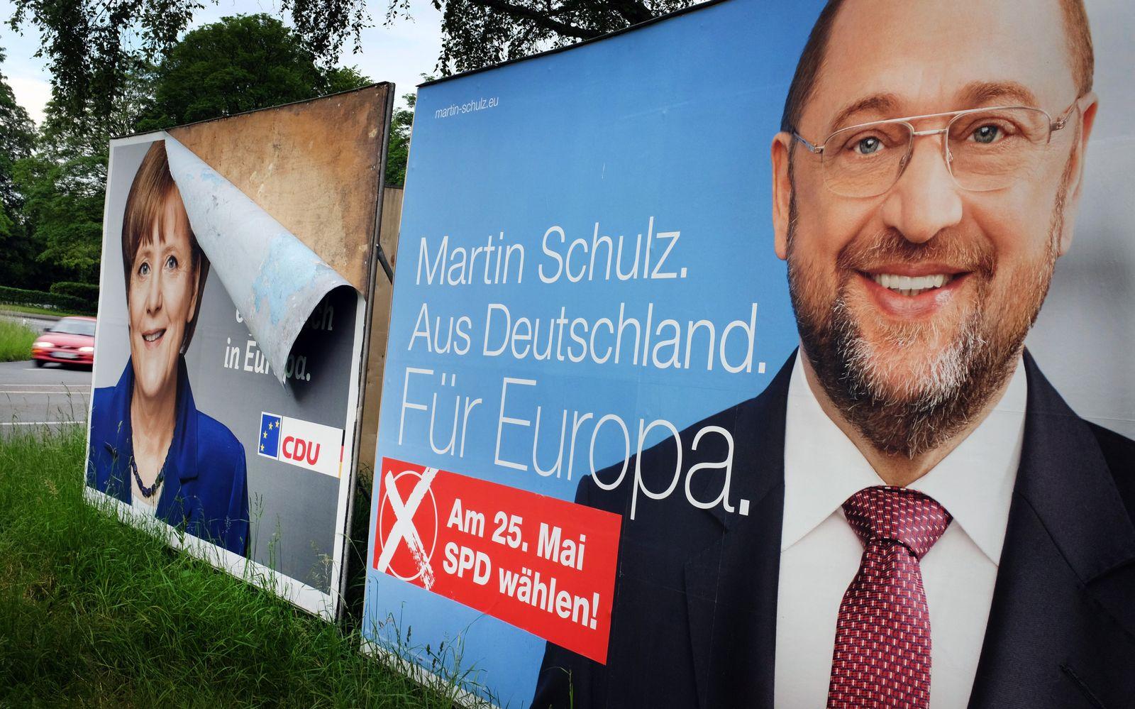 Martin Schulz Wahlplakat