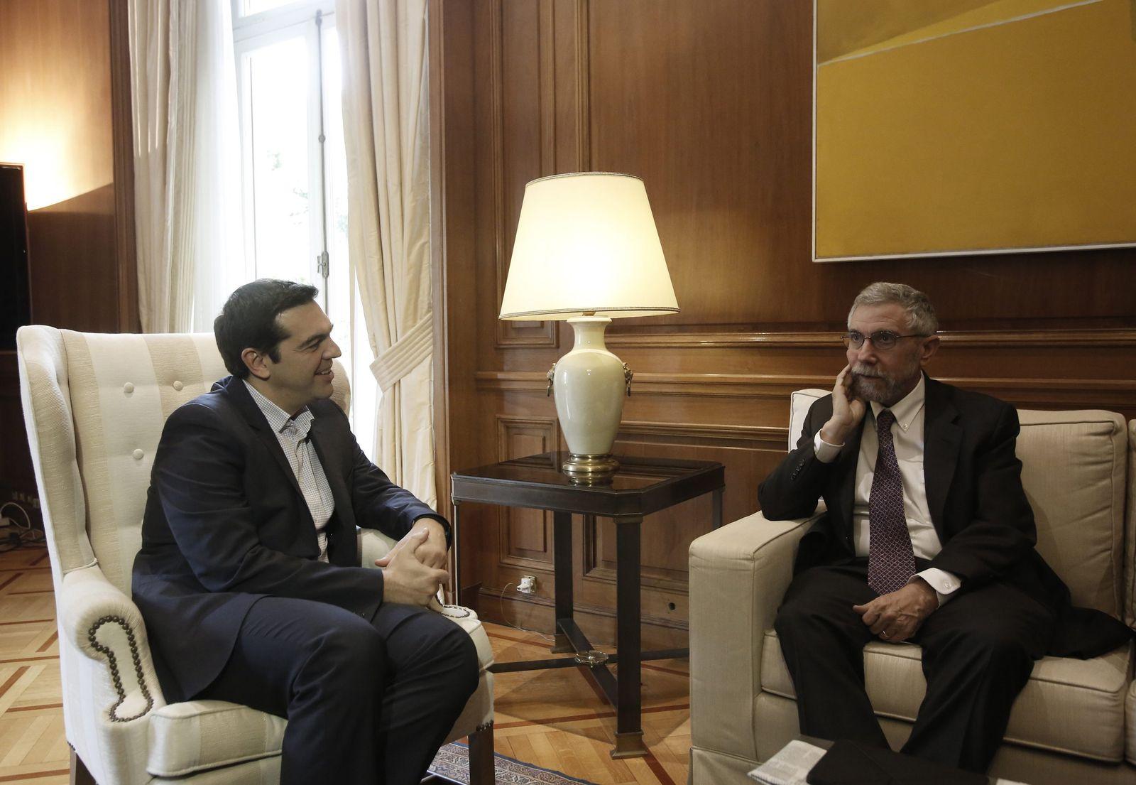 Paul Krugman trifft Alexis Tsipras