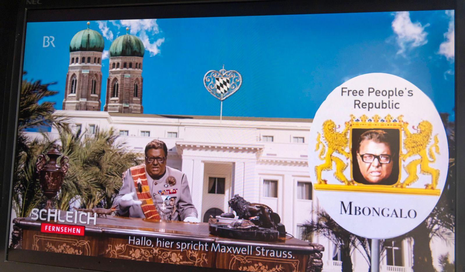 Blackfacing in Satiresendung. Rassismusvorwürfe gegen den Bayerischer Rundfunk. Eine Parodie auf Franz Josef Strauß, dem