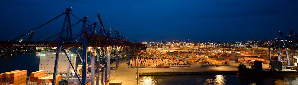 Hamburger Hafen (Archivbild)