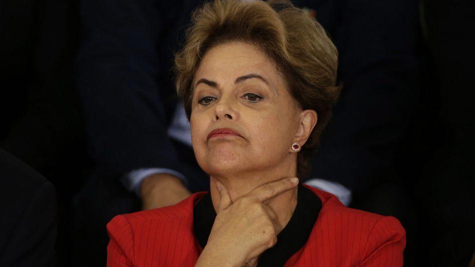 Brasiliens Präsidentin Rousseff: Vorwürfen wird nachgegangen