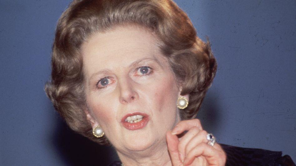 Margaret Thatcher im Jahr 1984
