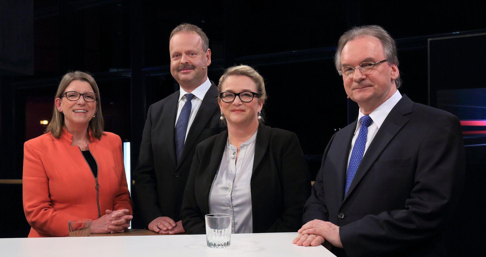 """""""Elefantenrunde"""" vor der Landtagswahl in Sachsen-Anhalt"""