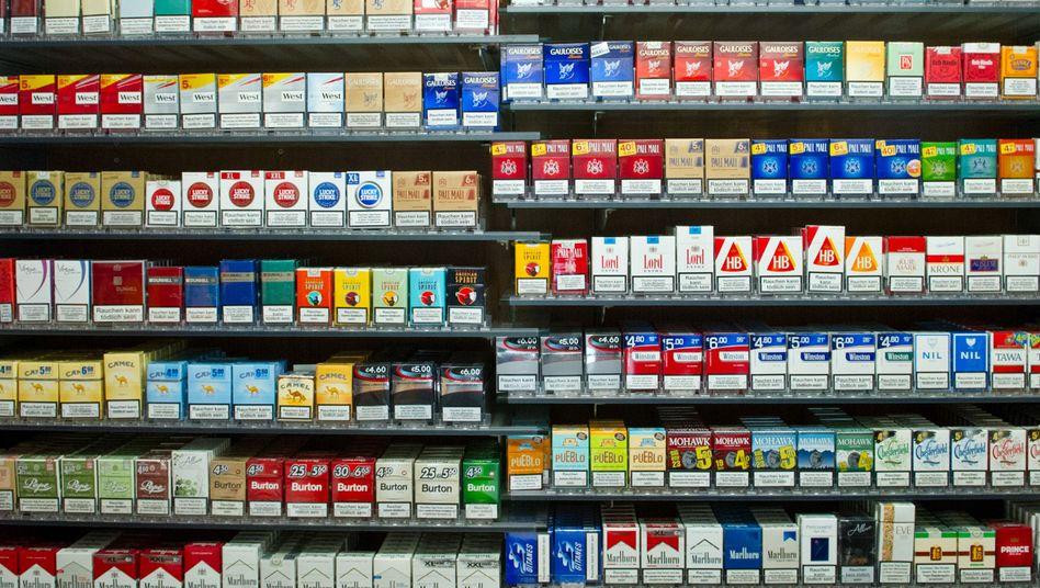 """Tabakwaren in Stuttgarter Kiosk: """"Ist das Wetter gut, rauchen die Leute mehr"""""""