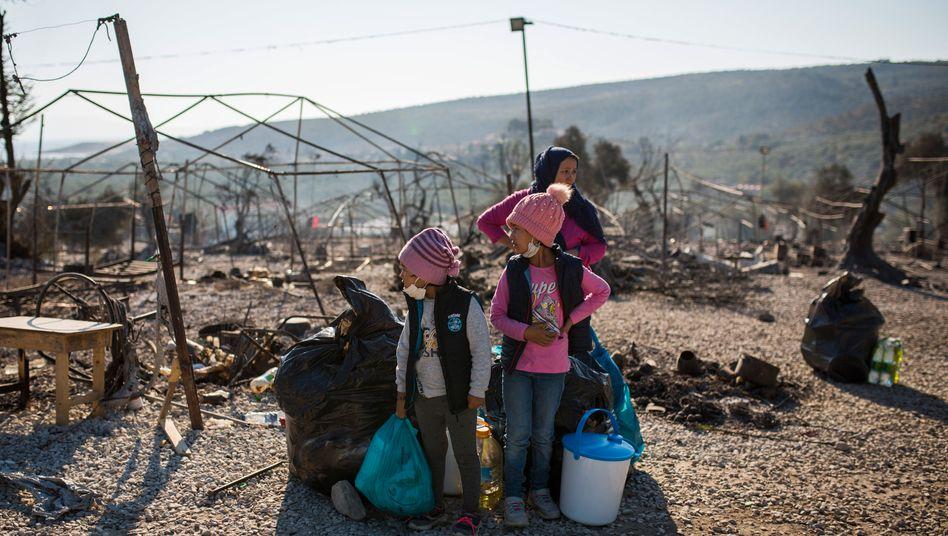 Sie wissen nicht, wohin: Flüchtlinge auf Lesbos