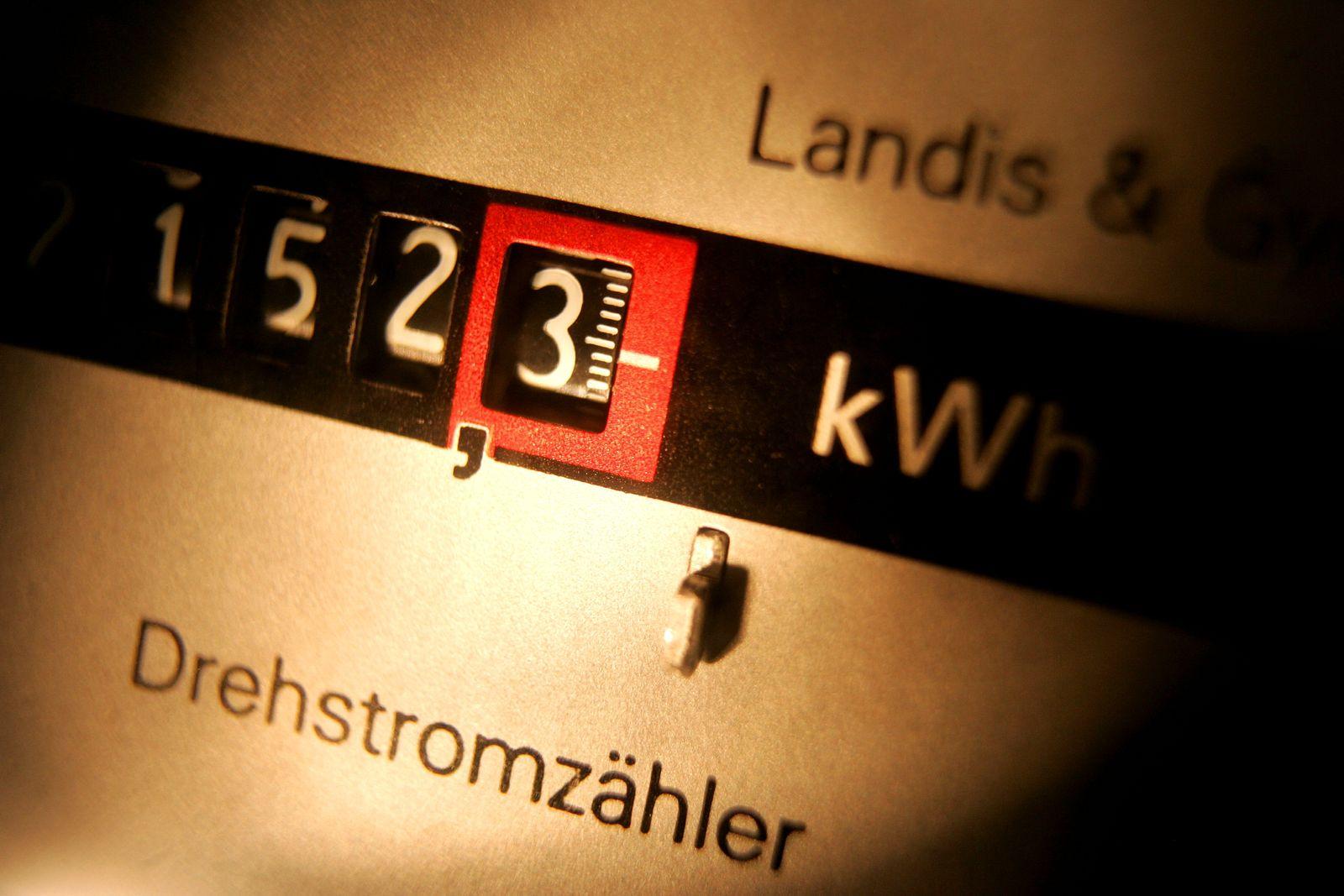 NICHT VERWENDEN Stromzähler / Drehstromzähler / Strom