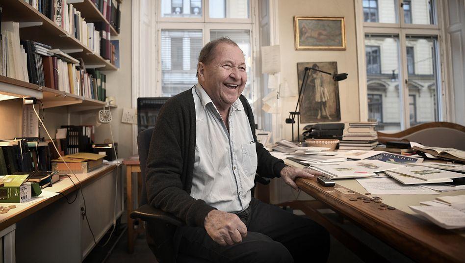 Roy Andersson in seinem Studio im Stockholmer Stadtteil Östermalm