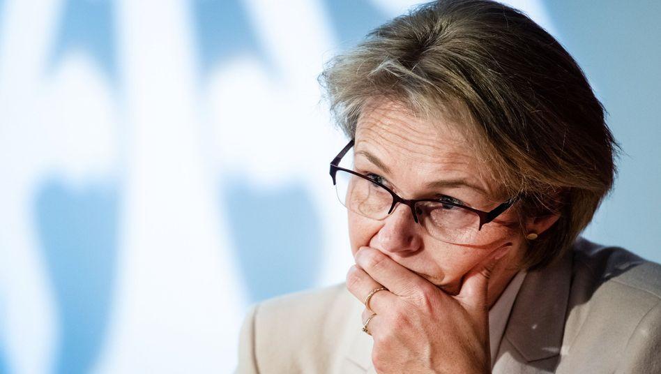 Bildungs- und Forschungsministerin Anja Karliczek (CDU): Rücktrittsforderungen aus der eigenen Partei