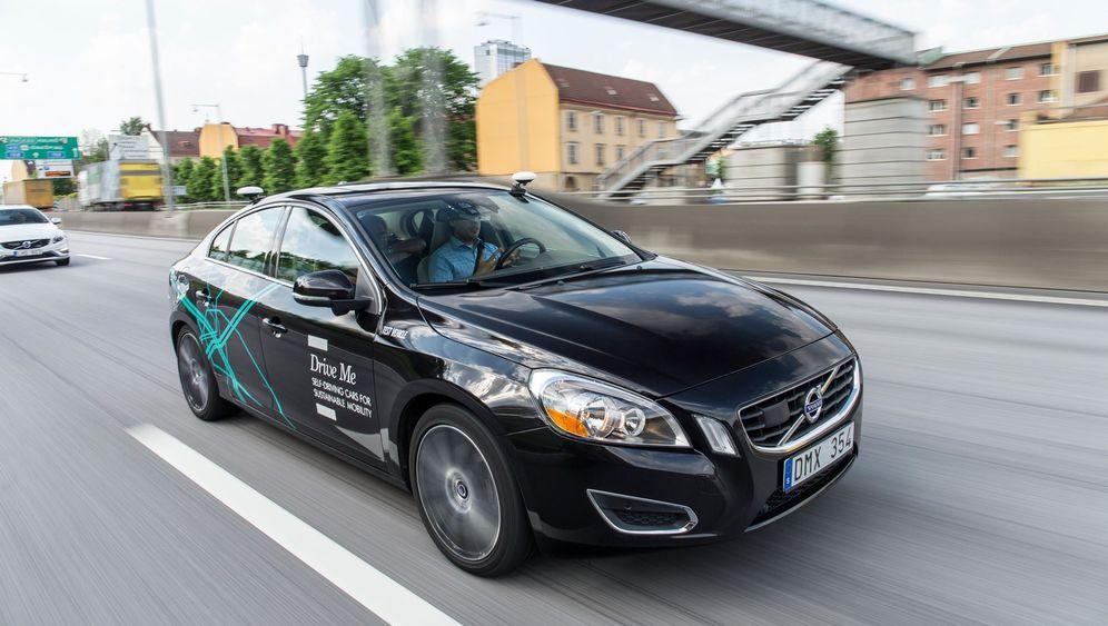 Autonomes Fahren: Halbautomatisch rund um Göteborg