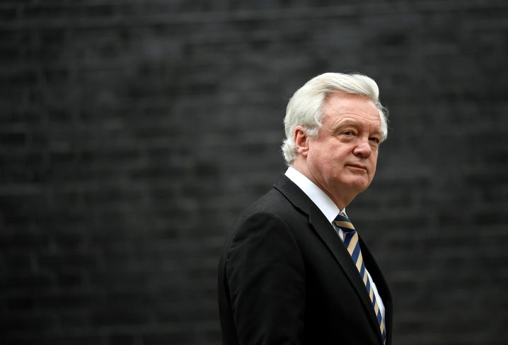 "Former British Secretary of State for Exiting the European Union David Davis: ""Within a year, everything will be ironed out, whatever there will be."""