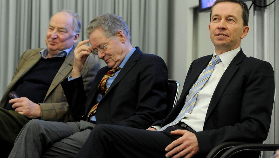 """Parteigranden Gauland, Adam und Lucke: """"Schlieffen-Plan"""" für die AfD?"""