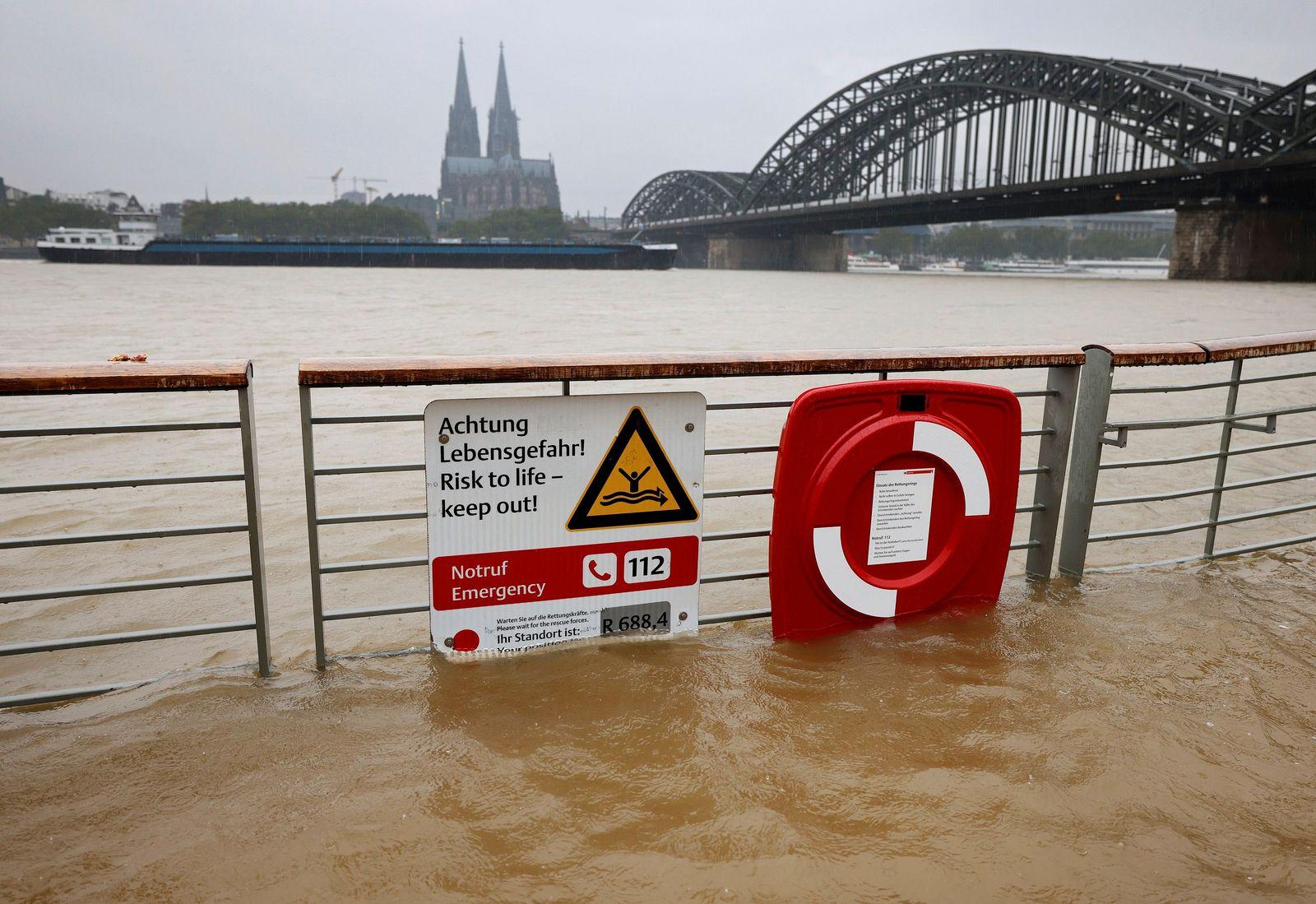 Regen in Köln