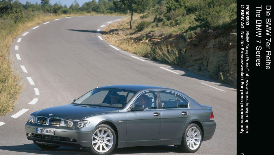 BMW 7er von 2001: Traditionalisten schrien Zeter und Mordio