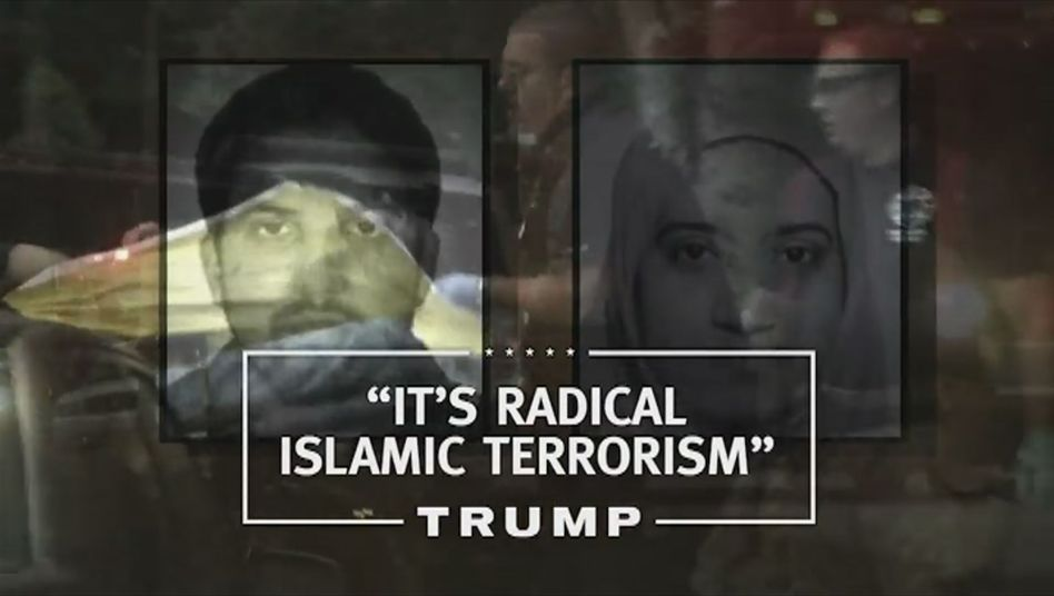Screenshot aus dem Trump-Wahlkampf-Spot: Anders als die anderen