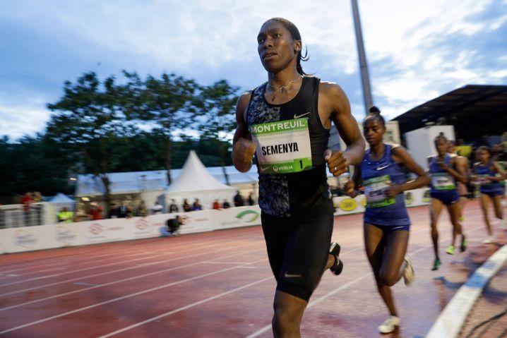 Im Juni lief Caster Semenya in Frankreich ein Rennen über 2000 Meter