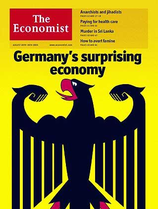 Keep your pecker up, Germany. Your national economy could have more muscles than you think.