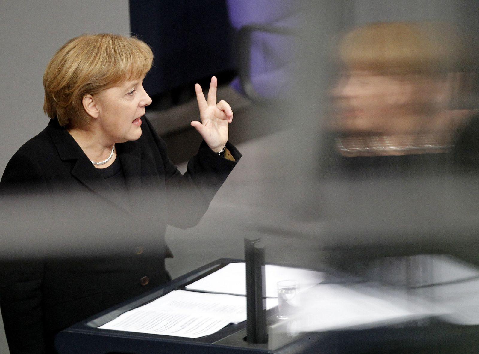 Merkel/ Bundestag