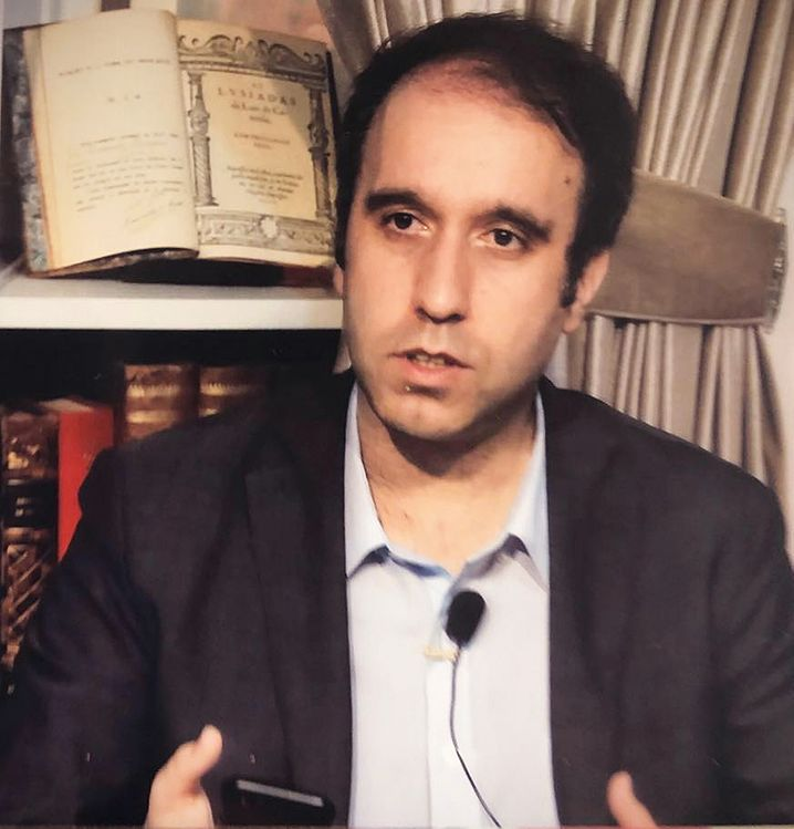 """José Carlos Matias, Chefredakteur der portugiesischsprachigen Zeitung """"Plataforma Macau"""""""