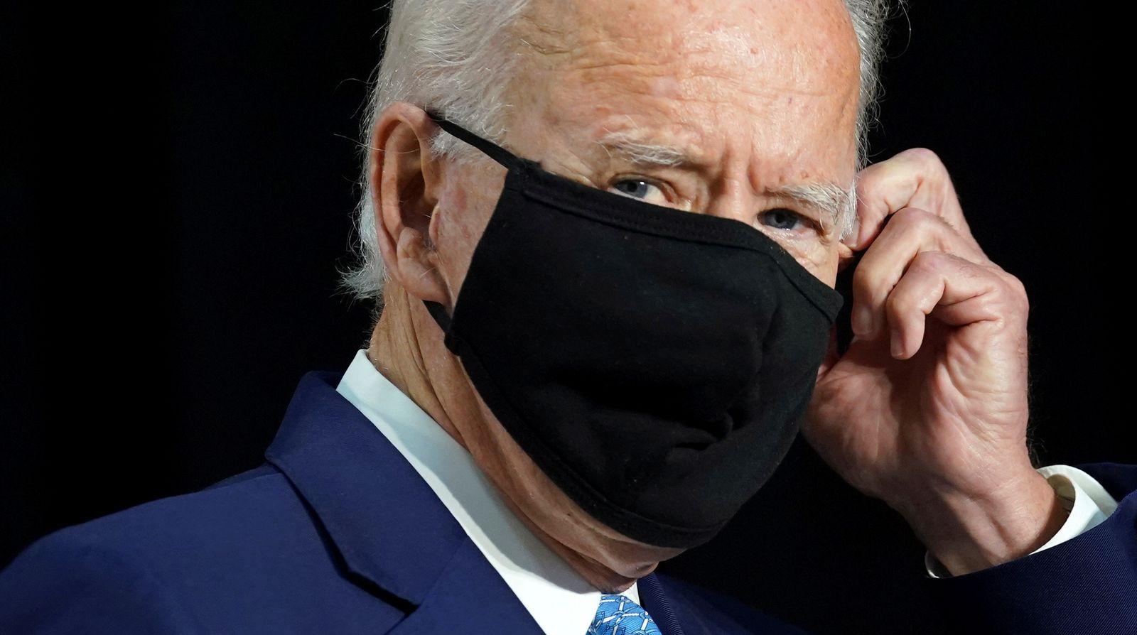 Joe Biden campaigns in Wilmington, Delaware
