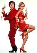 """Mike Myers mit Filmpartnerin Heather Graham im zweiten Teil der """"Austin Powers""""-Serie"""