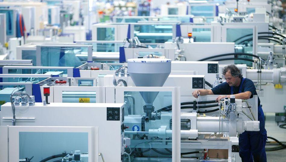 Kunststoffproduktion bei Krauss-Maffei: Von chinesischer Staatsfirma übernommen