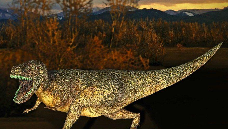 Tyrannosaurus rex (Modell)