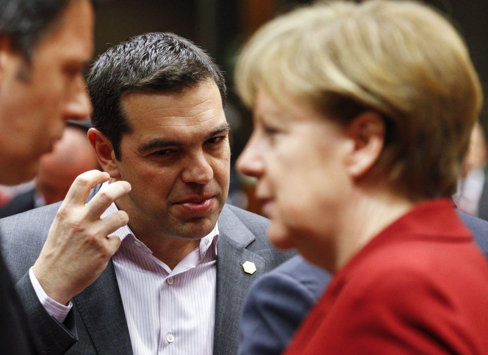 Alexis Tsipras/Angela Merkel