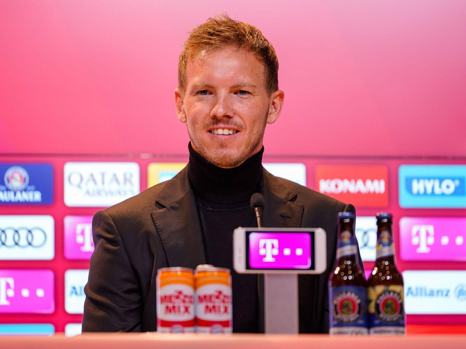 GER, FC Bayern Muenchen, antritts Pressekonferenz mit Julian Nagelsmann, Hasan Salihamidzic und Oliver Kahn, 07.07.2021