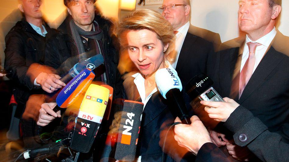 """Verhandlungsführerin von der Leyen: """"Wir haben die große Lösung angeboten"""""""