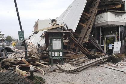 Erdbeben in Kalifornien im Dezember 2003: Von Keilis-Borok korrekt vorhergesagt