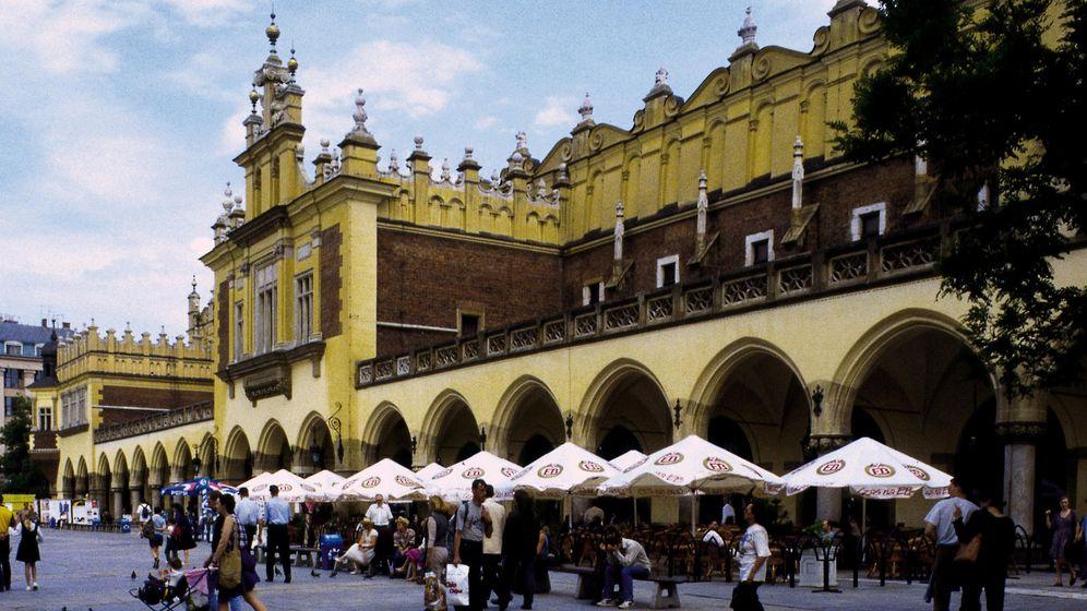 Krakau: Maler, Musiker und Sprachschülerinnen