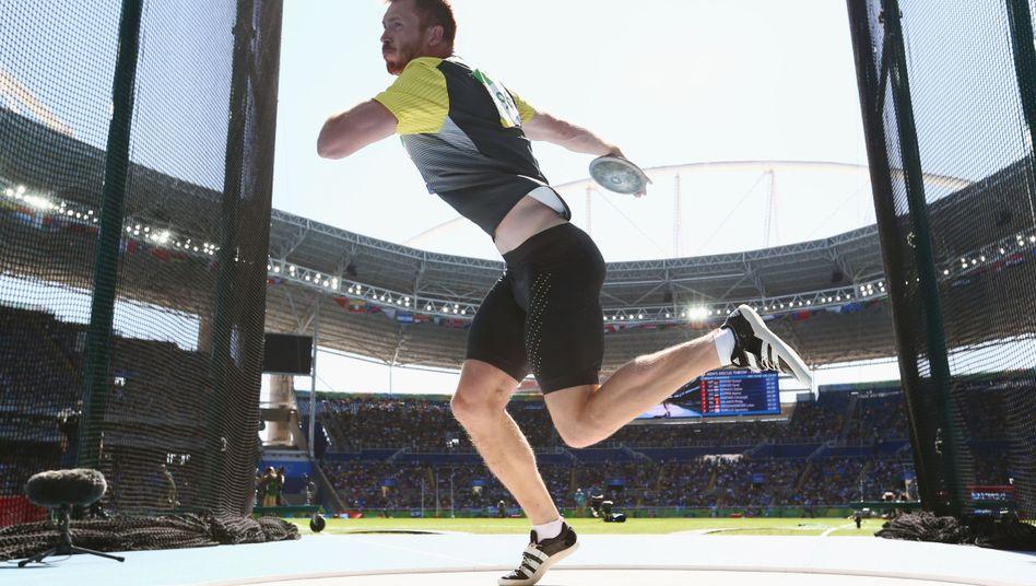 Christoph Harting bei den Olympischen Sommerspielen