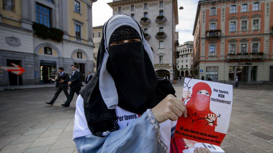 """Gegner des Referendums: """"Niemand darf sein Gesicht verbergen"""""""