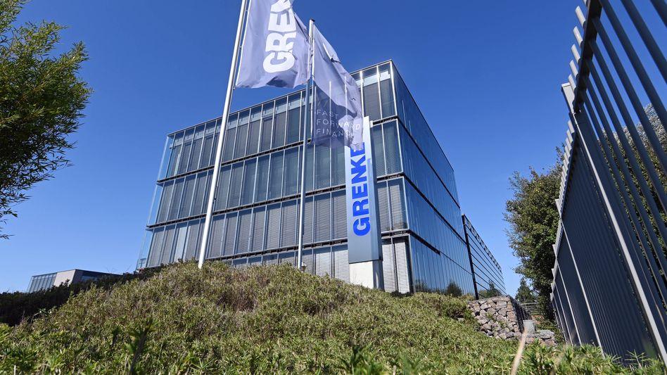 Betriebsgelände von Grenke in Baden-Baden