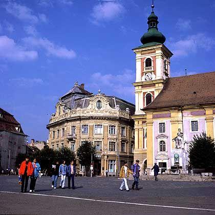 Altstadt von Sibiu: Einfluss der Sachsen ist immer noch erkennbar
