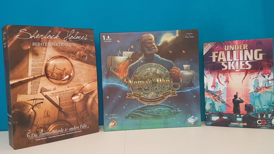 Diese Spiele haben wir getestet: »Sherlock Holmes«, »Falling Skies« und »Nemos War«