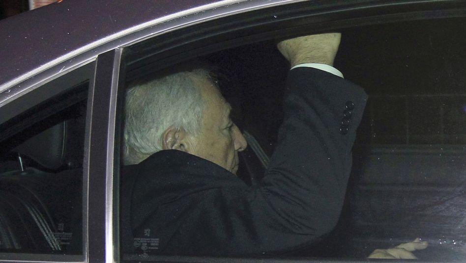Strauss-Kahn am 26. März 2012 in Lille: Weist alle Vorwürfe entschieden zurück