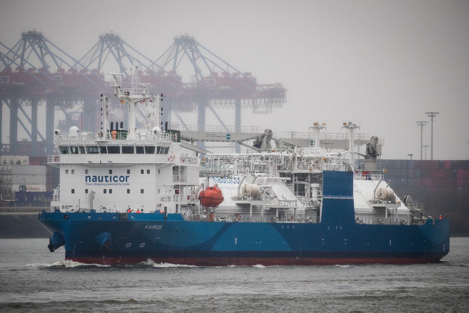 """LNG-Bunker-Schiff """"Kairos"""""""