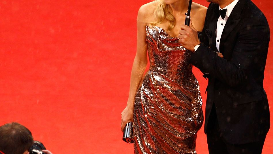 """Actors Diane Kruger and Joshua Jackson at the """"Amour"""" premiere during the 65th Annual Cannes Film Festival on May 20."""