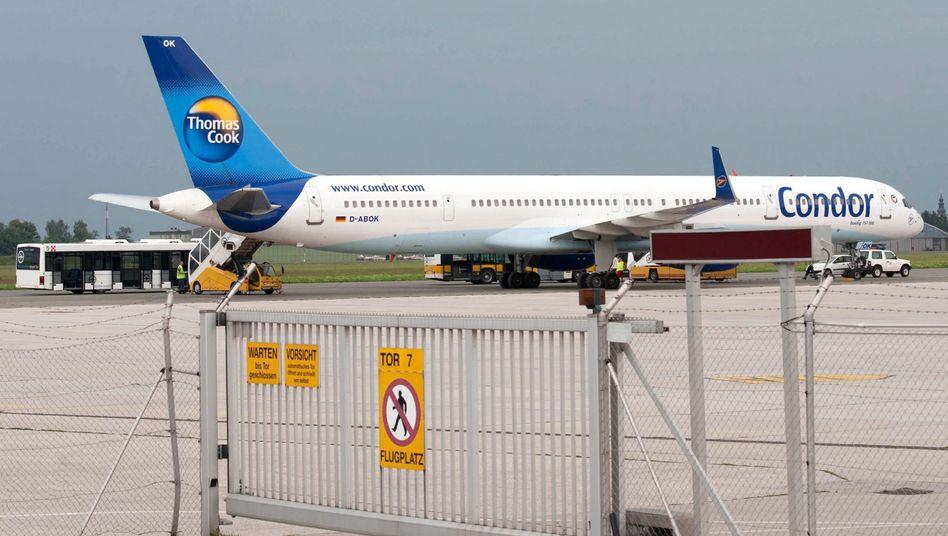"Condor-Boeing (Archivbild): ""Den ganzen Flug Kopfschmerzen"""