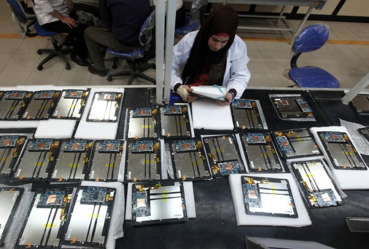 Produktionsstätte der Firma Benha: Weitverzweigtes Wirtschaftsreich