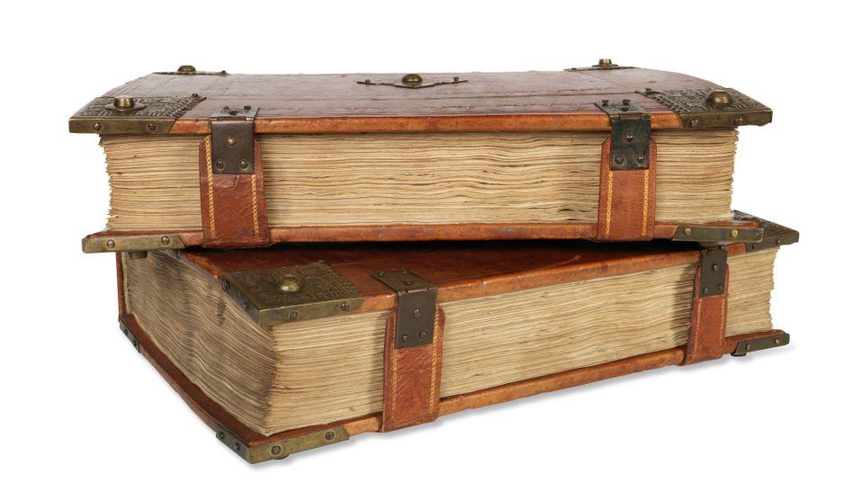 Von Gutenbergs Druckerpresse auf den Auktionstisch: die Bibel von Peter Schöffer